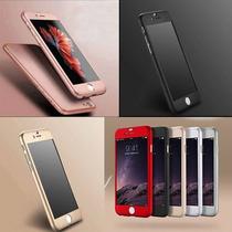 Funda Policarbonato Y Mica Cristal Templado Iphone 6 7plus