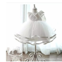 Vestido Batizado Festa Bebê Princesa Maternidade Festa