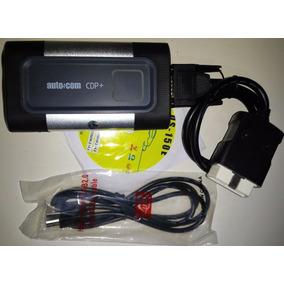 Scanner Autocom Cdp+ P/ Carros E Trucks Bluetoth + Kit Leve
