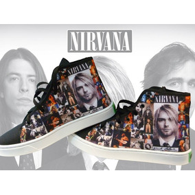 Zapatillas Nirvana Kurt Cobain