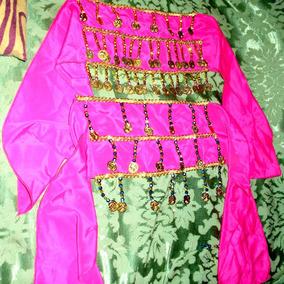 1 Caderin Odalisca Chalina Monedas Danzas Arabes Infantil