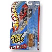 Carrinho Hot Wheels Revups Howlin Heat Marrom Fricção Mattel