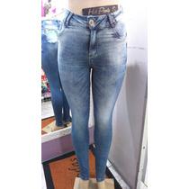 Calça Jeans Feminina Darlook Cintura Alta