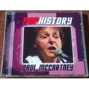 Cd Paul Mccartney Pop History Coletânea Original & Lacrado!!