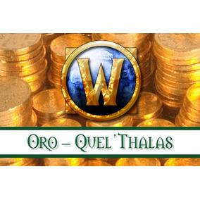 Oro World Of Warcraft (wow) Quel