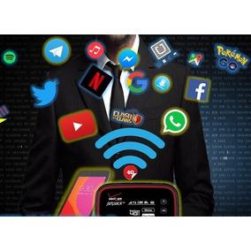Internet Rapido Wifi 4g Lte Ilimitado Sim 500gb Digitel Bam