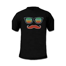 Camiseta Led Bigode Grosso