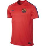 Remera Nike Barcelona Fc Dry Squad Futbol