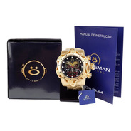 Relógio Masculino Spaceman Analógico + Caixa Premium Ros62
