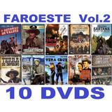 Top Coleção Faroeste Volume 2 Com 10 Dvds Novos E Lacrados