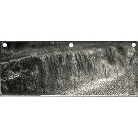 Zinco Anodo Placa Chapa Metal 99,996% Puro 3 Furos
