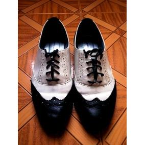 Zapatos Bosi Estilo Oxford De Mujer