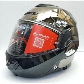 Casco Abatible Ls2 Valiant 180 Degrees Cromo Rider One