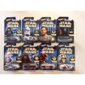8 Hot Wheels Star Wars Coleccion ( Nuevos)