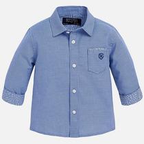 Camisa Manga Larga Mayoral Para Bebe Niño 3 Y 12 Meses