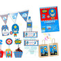 Kit Imprimible Capitan América Candy Bar Invitaciones Cumple