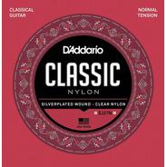 Daddario Classic Nylon Ej27n Encordado Para Criolla .027