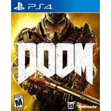 Juego Doom 2016 Ps4 Físico Sellado Nuevo