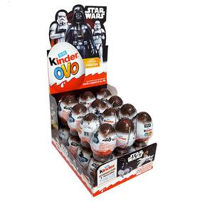 Kinder Ovo Star Wars Caixa C/24 - Ferrero