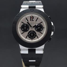 be1f499071b Bvlgari Carbongold Chronograph Moscow - Relógios no Mercado Livre Brasil