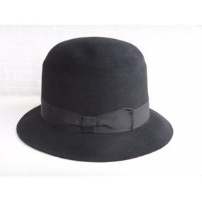 Sombrero De Luca - Indústria Argentina - Chapéu Feltro Preto