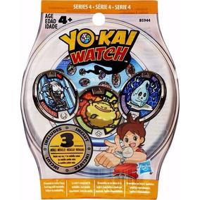 Yo-kai Watch Medal Mystery Bag 3 Medallas Sorpresa Original