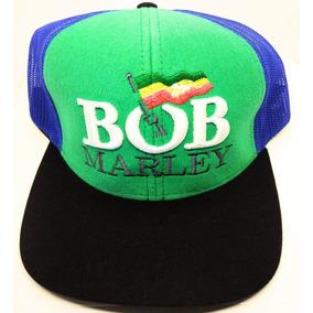 Boné Aba Reta Tela Bob Marley Apenas R$15