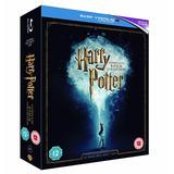 Coleccion Harry Potter Bluray Version Inglesa 16 Discos