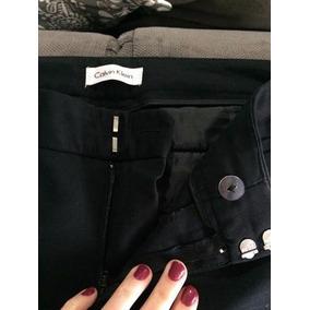 34521208ddf6b Calça Jeans Preta Feminina Calvin Klein Importada Flare - Calças no ...