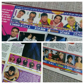 Series Bravo Revista Backstreet Boys Paginas Clipping