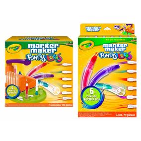 Kit Marker Maker Puntas Locas + Refill Pack 79 Pz Crayola