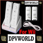 Cargador Controles Wii+* 2800mah Baterias Recargables Blanco