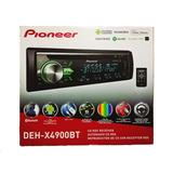 Autoestereo Pioneer Deh-x4900bt Nuevo Incluye Control Remoto