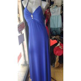 Vestido De Fiesta Color Azul Rey