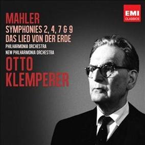 Mahler: Sinfonías Y Canción De La Tierra - Klemperer - 6 Cds