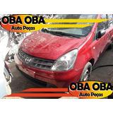 Sucatas E Batidos Nissan Livina Sl 1.8 16v Aut Eletrico 2009