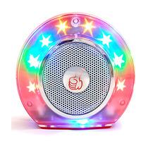 Velikka Bocina Recargable Usb Radio Fm Micro Sd St-72 Rojo