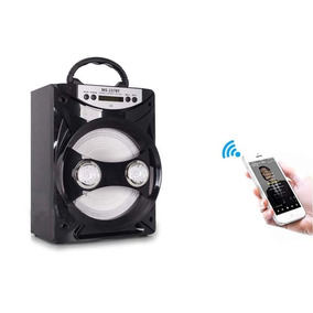 Caixa Som Portátil Bluetooth Amplificada Usb Sd Fm Microfone