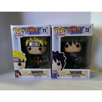 Funko Pop Animation Serie Naruto Y Sasuke 2 Figuras Oferta