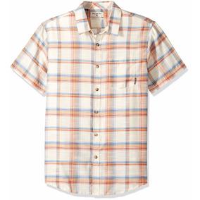 Camisa Manga Corta Billabong Talla S (hyde), Envio Gratis