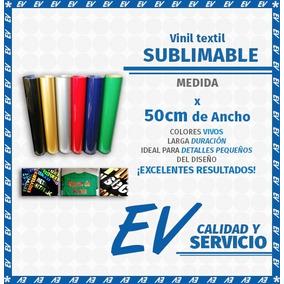 Vinil Textil (- Sublimable -) Especiales (1 Mt)