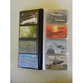 Coleção Com 320 Cartões Telefônicos Com Porta Cartões!