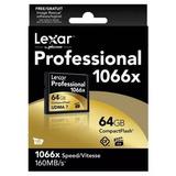 Cartão Cf Compact Flash Lexar Original 64 Gb 1066x 160mbps