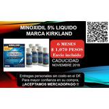 Minoxidi 6 Meses. Kirkland. México Df