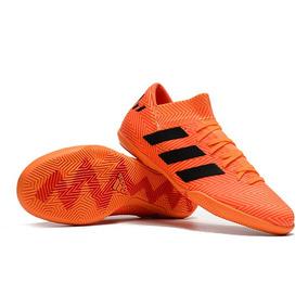 da80cb262d Adidas Tenis Futsal F5 Messi F32741 Adultos - Chuteiras no Mercado ...