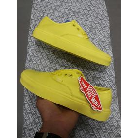 amarillos vans snoopy