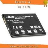 Bateria Lg Bl-44jn L3 E400 L5 E615 E455 A290 P970 Original