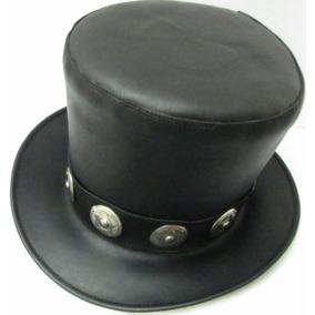 Sombrero De Piel Estilo Slash