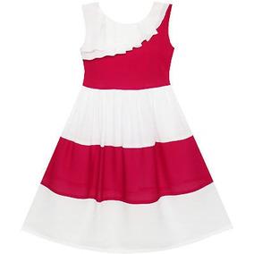 466282f4e Vestido Plisado Color Bermellon Mujer Largos - Vestidos en Mercado ...