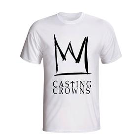 Camisa Camiseta Casting Crowns Banda Cristã Soft Rock Gospel